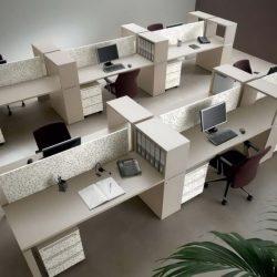 שולחנות משרדיים משותפים